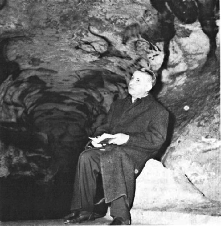 Bataille in Lascaux